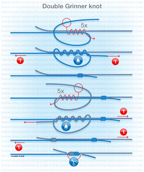 как связать инлайн на плетенке